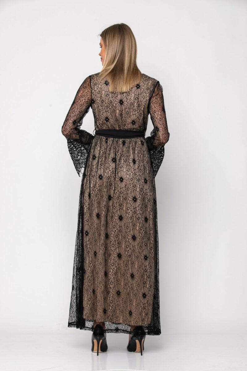 Φόρεμα cocktail σε δαντέλα κρουαζέ 21112374