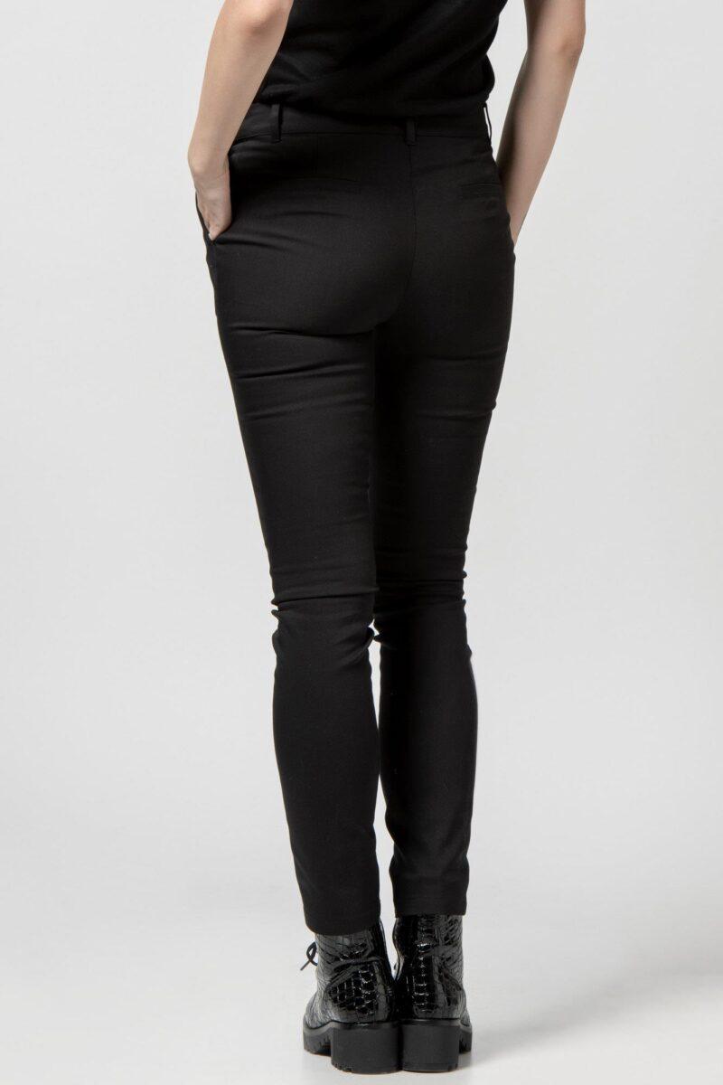 Παντελόνι μαύρο καμπαρντίνα 1302520-1