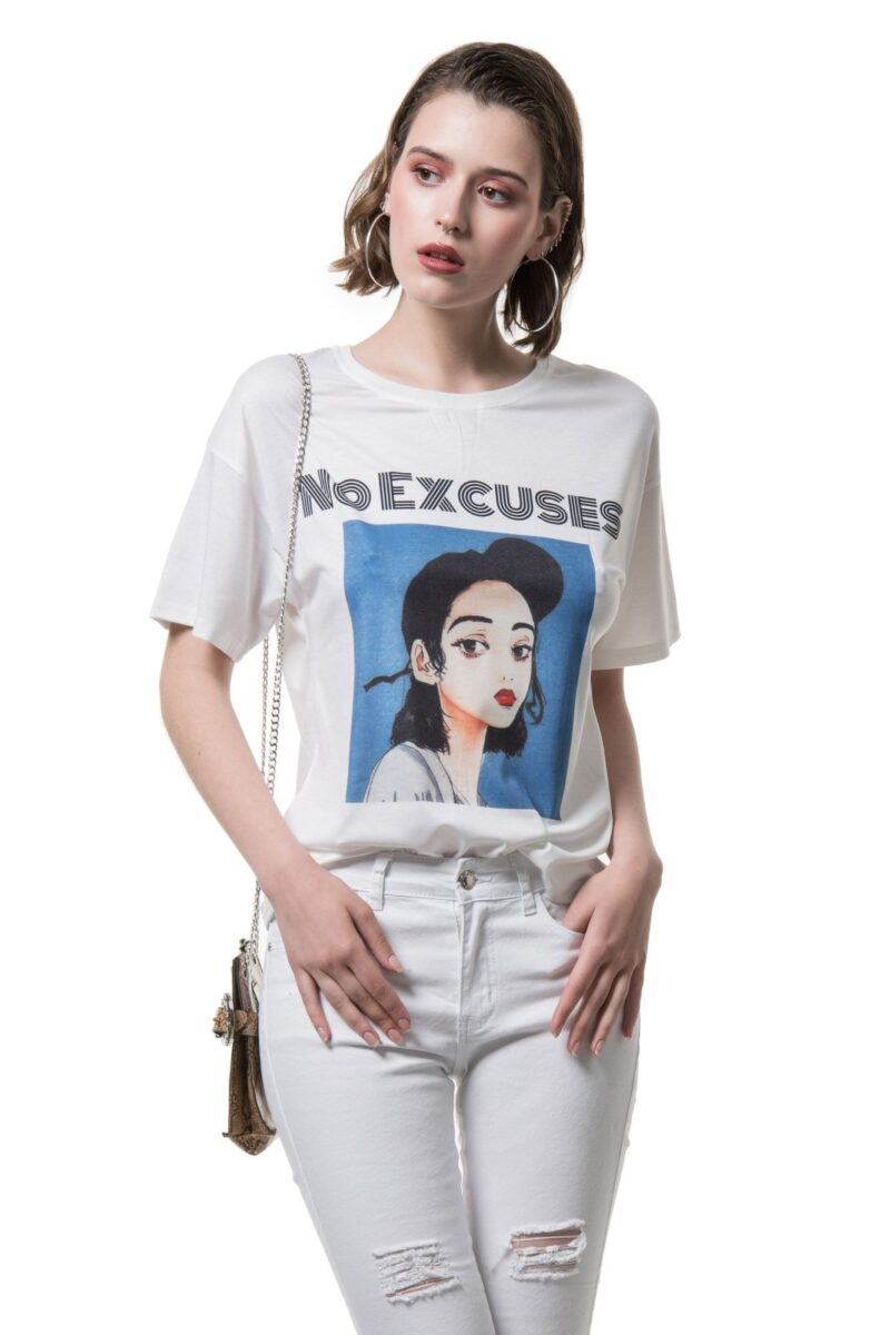 T-shirt NO EXCUSES 1002365