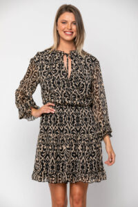 Φόρεμα μίνι εμπριμέ 21112359
