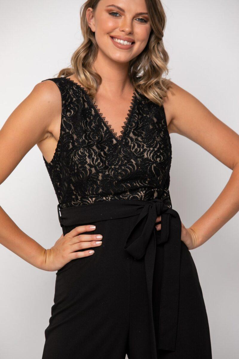 Ολόσωμη φόρμα μαύρη 21081523
