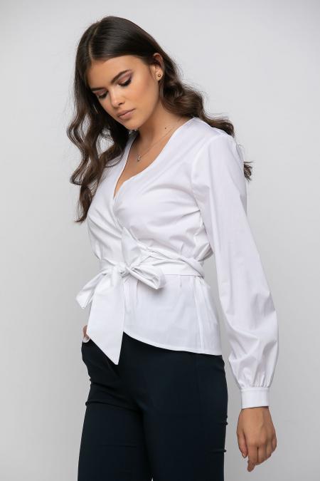 Παντελόνι τσίνο ψηλόμεσο με τσέπες εμπρός και φιλέτα πίσω μπλέ 21081526-2
