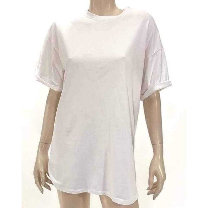Μπλούζα με κοντό μανίκι λευκό A5321-4