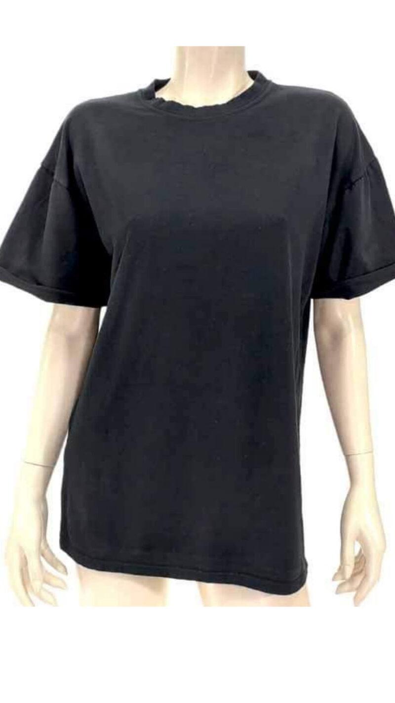 Μπλούζα με κοντό μανίκι μαύρο A5321-3