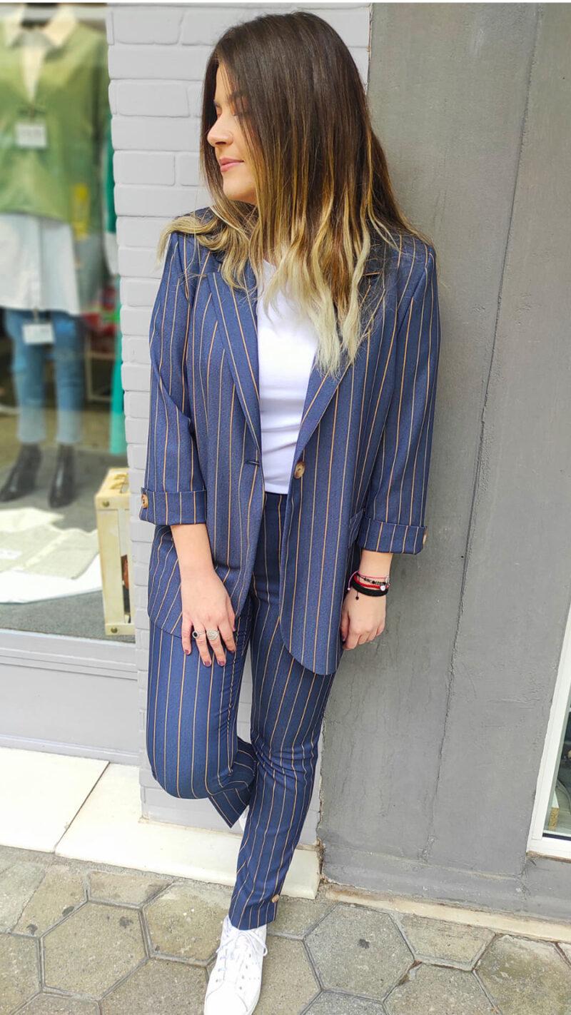 Κοστούμι Σακακι & Παντελόνι μπλε 20020-9120