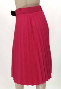 Φούστα πλισέ με ζώνη φούξ 2701-1