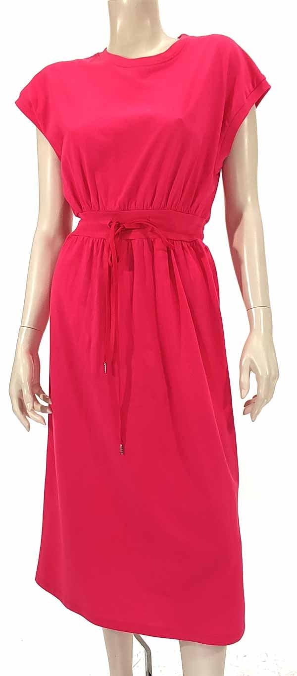 Φόρεμα midi φούξ 3140-2