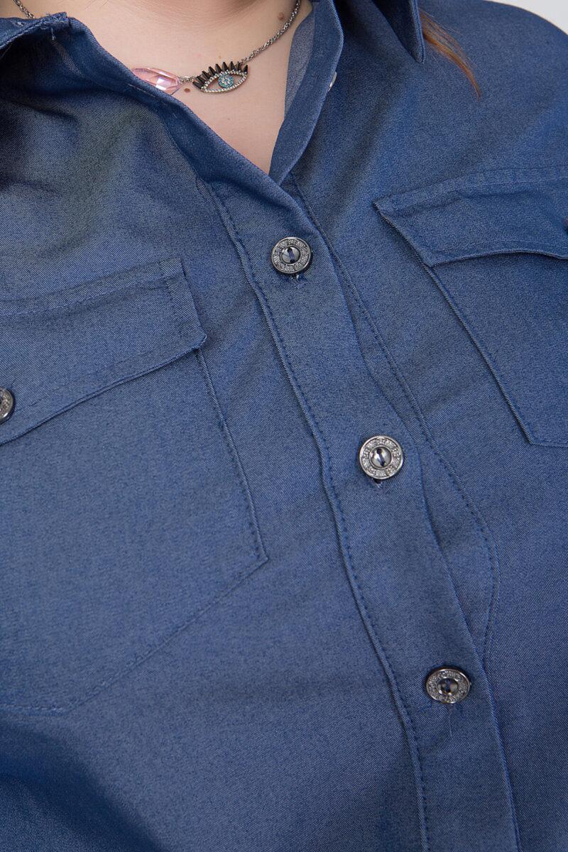 Πουκάμισο demin με κουμπιά 2160.21263
