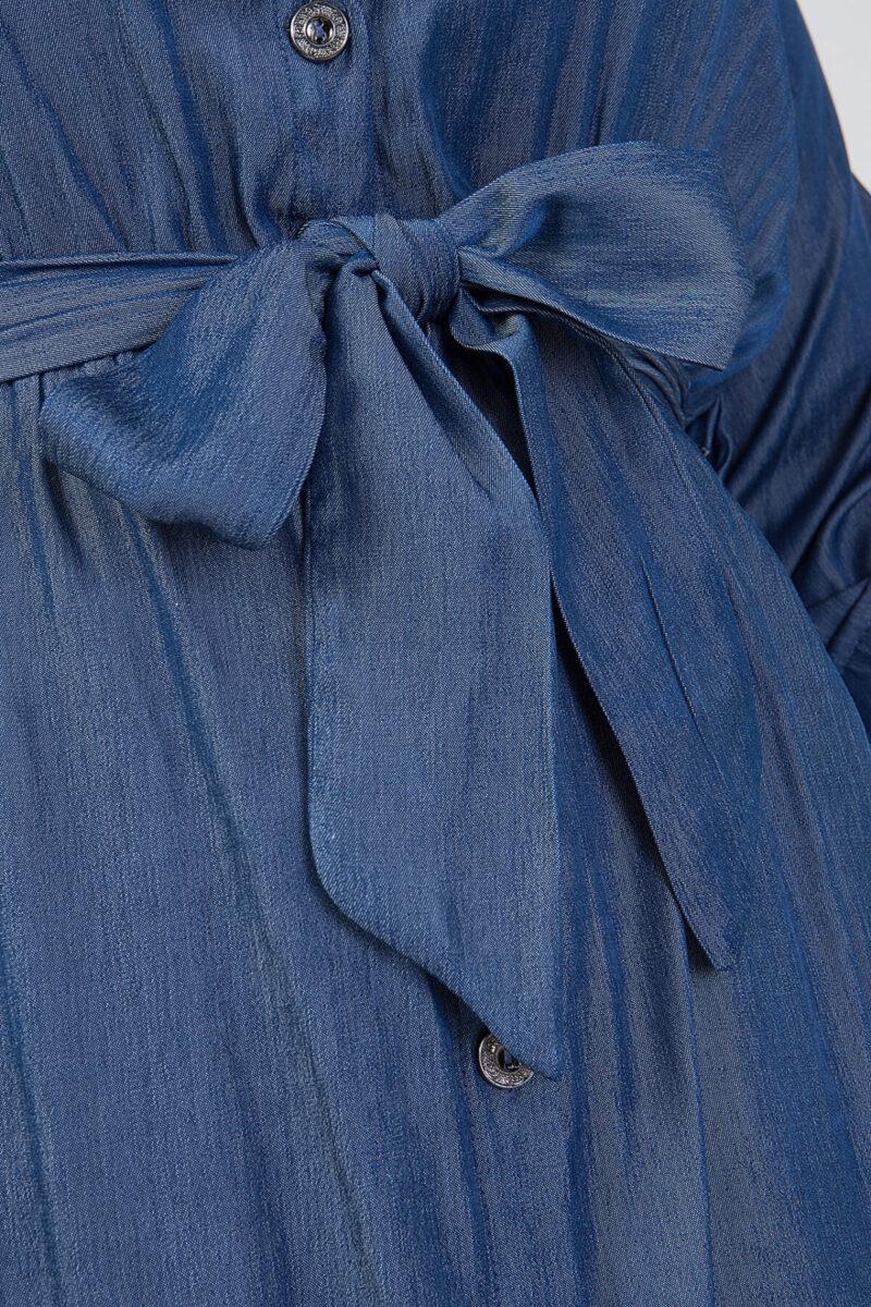 Φόρεμα denim σεμιζιέ 2160.2421