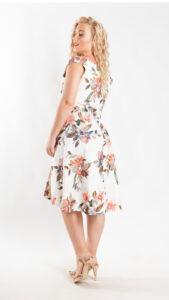 Φόρεμα κοκτέιλ φλοράλ 5620