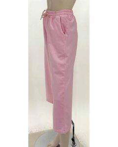 Παντελόνι φούτερ ζίπ ρόζ 7888-4